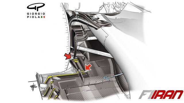 شکاف های جلوی تایر عقب در خودروی هاس VF-20