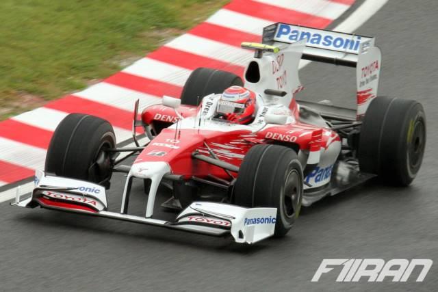 کامویی کوبایاشی ، ژاپن 2009 - تویوتا TF109