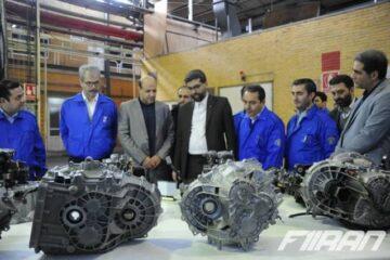 تولید انبوه گیربکس شش سرعته دستی ایران خودرو و نیمه اتوماتیک AMT ایرانخودرو