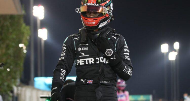 جورج راسل پس از رقابت فرمول یک صخیر بحرین 2020