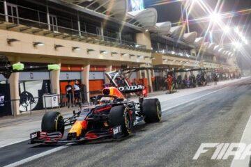 مکس ورشتپن - تعیین خط بحرین 2021