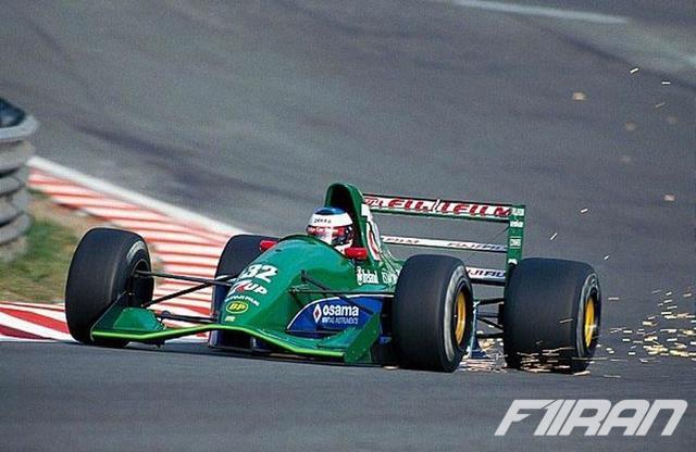 مایکل شوماخر - گرندپری بلژیک 1991 - خودروی تیم جردن