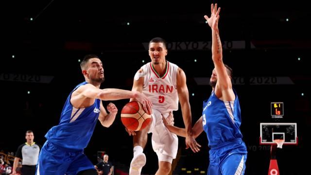 بسکتبال ایران آمریکا و فرانسه المپیک توکیو 2020